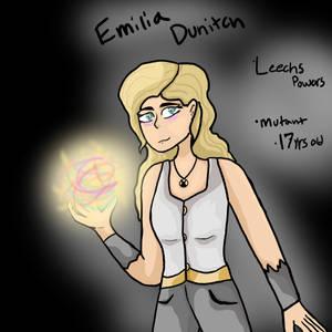 Emilia Dunitch by BluiepieMLP