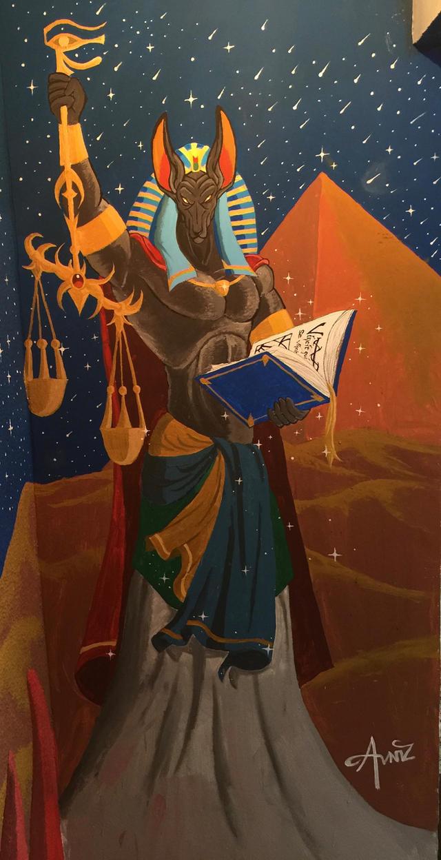 Anubis by Avniz
