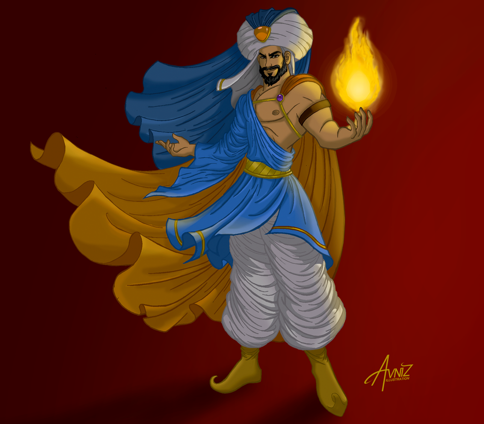 Arabian knight by Avniz