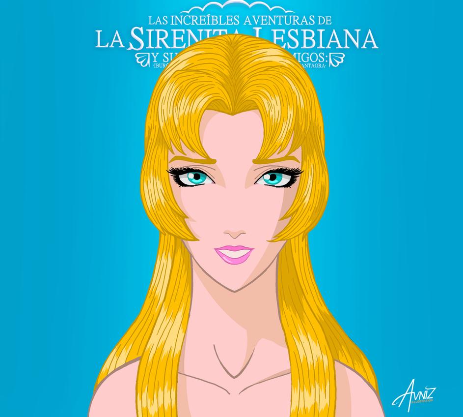 The lesbian little Mermaid by Avniz