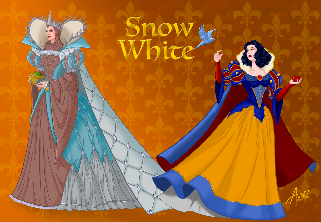 Snowwhite and the Evil Queen by Avniz