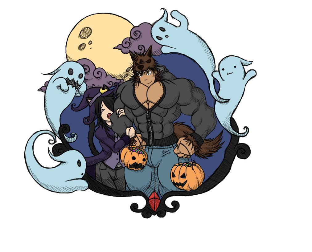Halloween Adventure! by paintedpaper