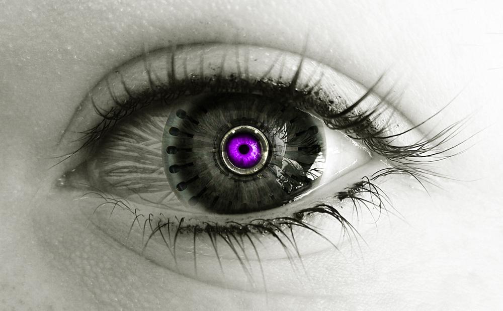 Robot Eye by RuneForceRyan