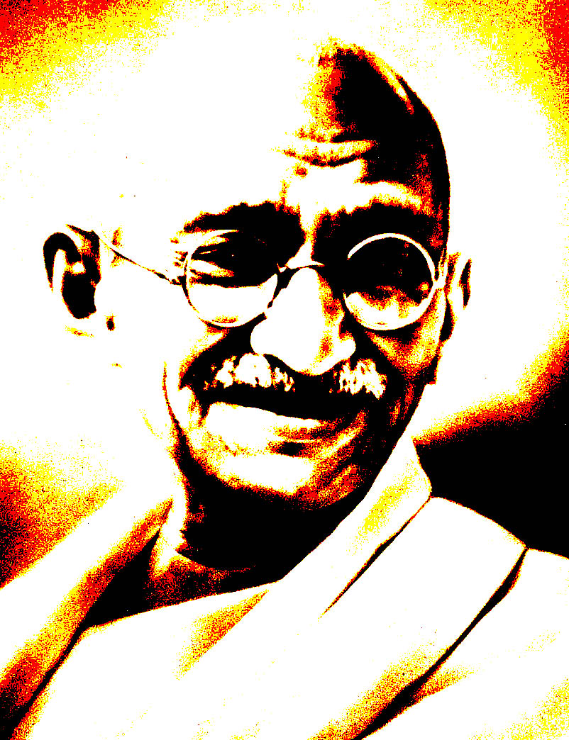 Gandhi by civildisobedienceco