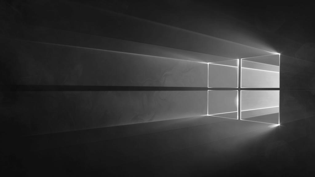 Microsoft Windows 10 - Default Wallpaper (BLACK) by CodeFormer