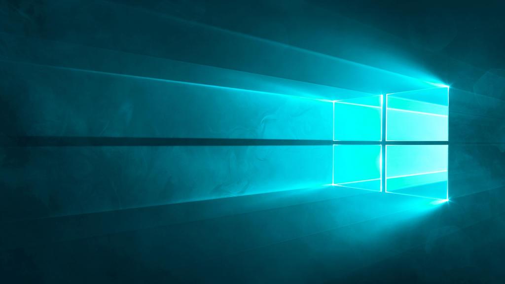 Microsoft Windows 10 - Default Wallpaper (CYAN) by CodeFormer