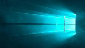 Microsoft Windows 10 - Default Wallpaper (CYAN)