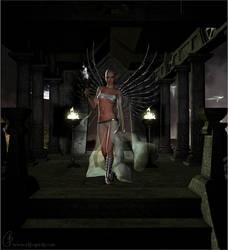 :: LeeNaida The SciFi Fairy by christel-b