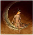 :: Moon Goddess :: by christel-b