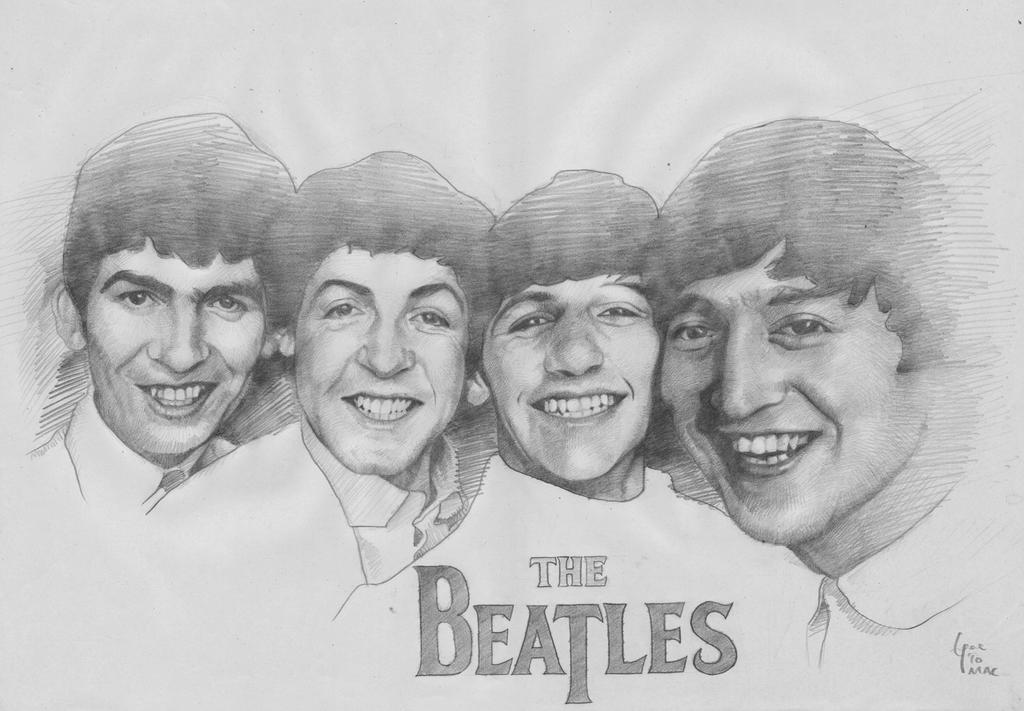 The Beatles by Eugeneoyc