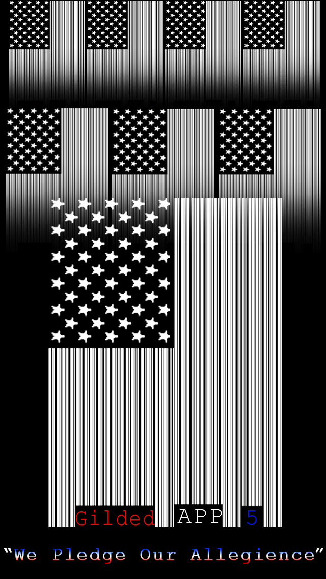 Iphone 5 American Flag Wallpaper By Gildedapp5