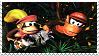 DiddyxDixie Stamp by raidpirate52