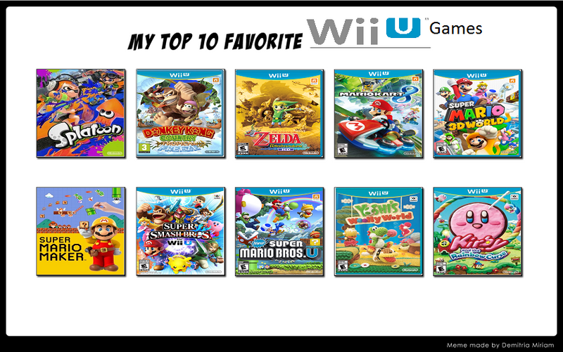 top_10_wii_u_games_meme_by_raidpirate52 dav84de top 10 wii u games meme by raidpirate52 on deviantart,