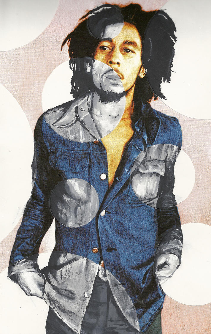 Bob Marley by drippyhippie