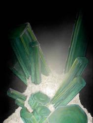 green tourmaline by drippyhippie