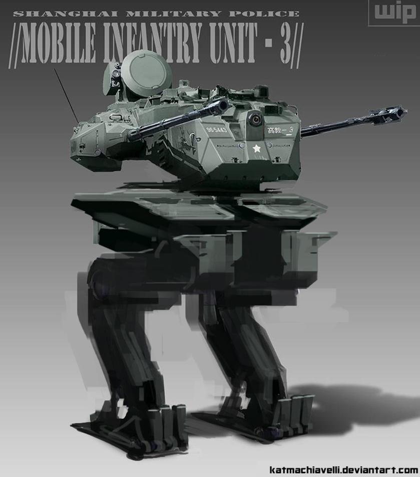 Mech WIP - Mobile Infantry Unit Shanghai MP by katmachiavelli