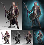 Kavina comm PAINTOVER tutorial and process