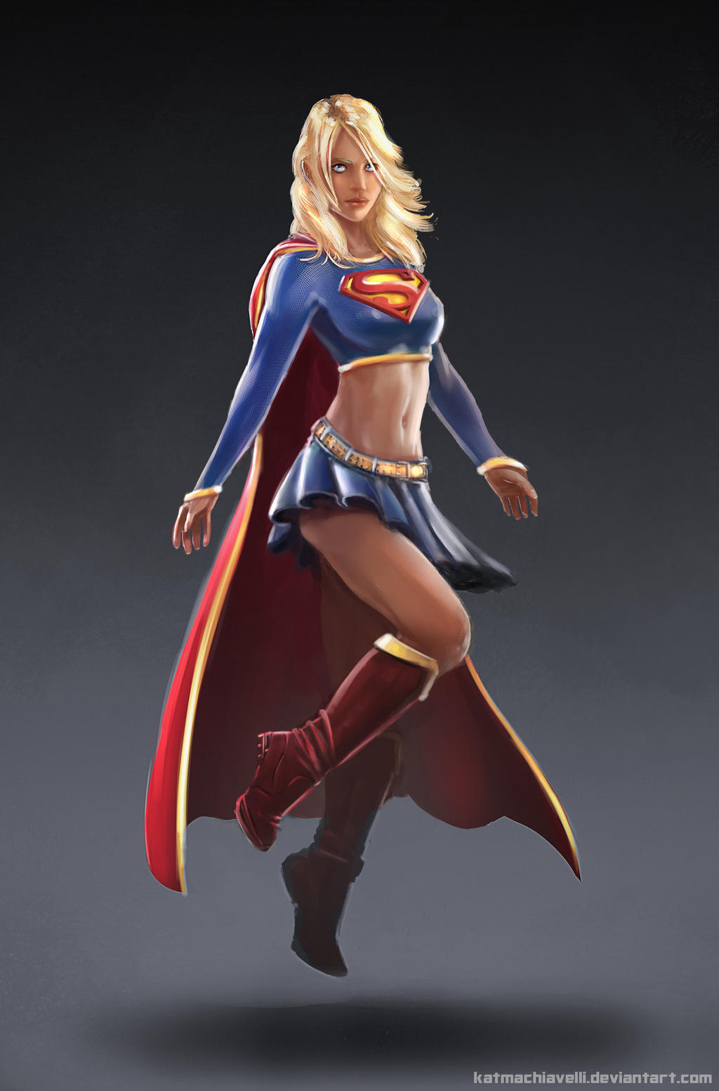 Supergirl commission by katmachiavelli
