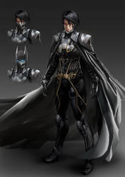 Cassandra Cain Batgirl - Injustice style