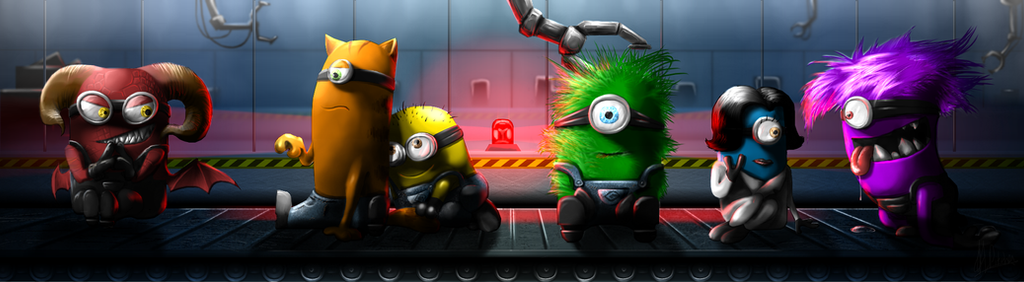 The Minion Factory. by Oniiix