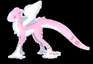 - Adoptable - pastel pink -  FREE Raffle /CLOSED