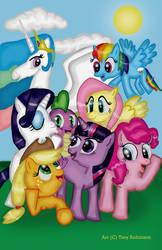 My Little Pony: Fanart Is Magic by Rocketknight56