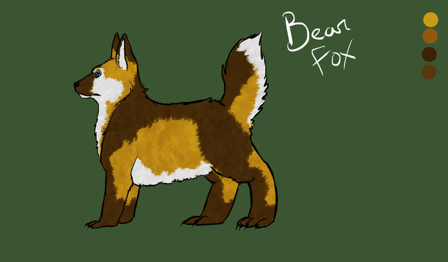 BearFox by Moophles