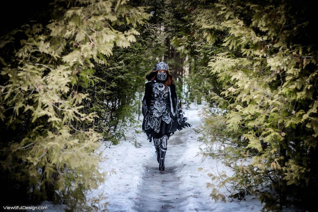 Skyrim: Nightingale Cosplay by vikkiievoltage