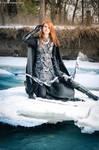 Skyrim Nightingale cosplay,