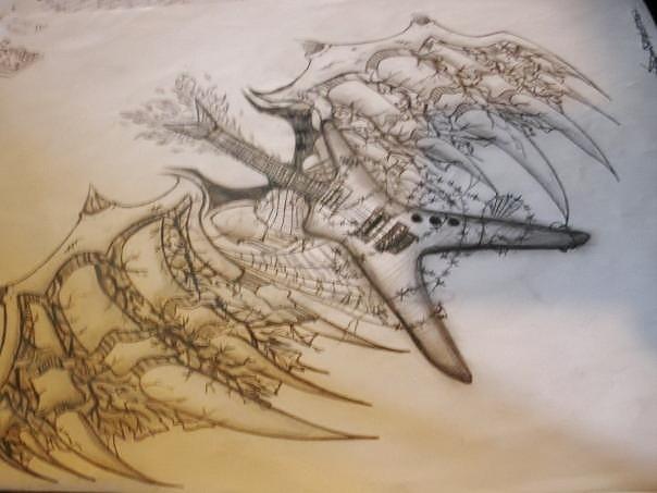 Tattoo concept drawn for friend by vikkiievoltage