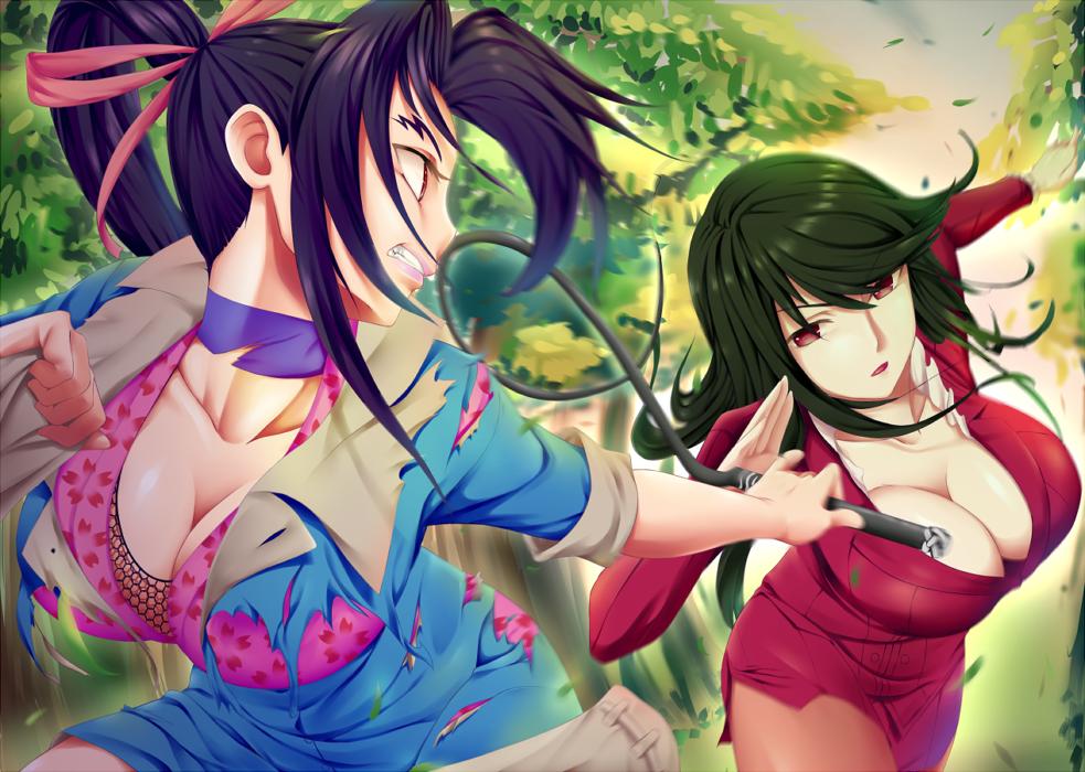 HSDK: Mikumo vs Shigure (RIXCH) by Miraclekid92