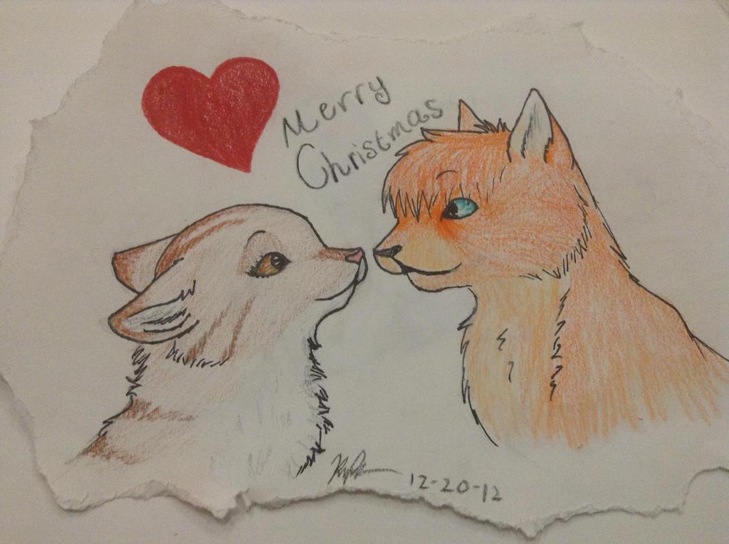 Kitten Love by wolf-drawer-kayla