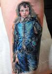 Blue Boy tattoo by Mirek vel Stotker