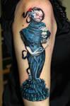 Natalie Shau art tattoo by Mirek vel Stotker