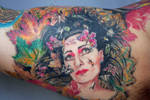 Siouxsie tattoo portrait by Mirek vel Stotker
