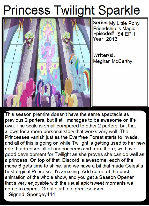 1001 Animations: Princess Twilight Sparkle by Spongey444