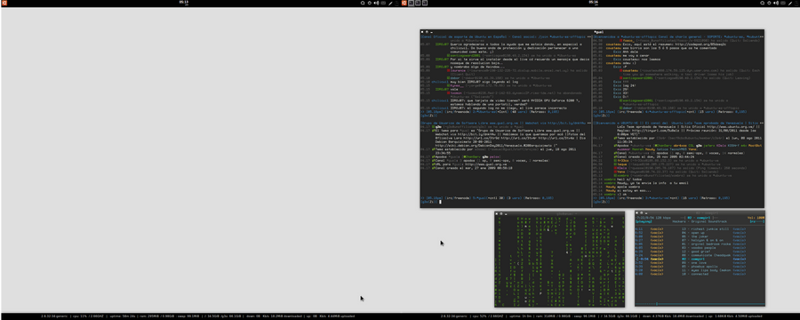 Another Config, Desktop August by avaldive