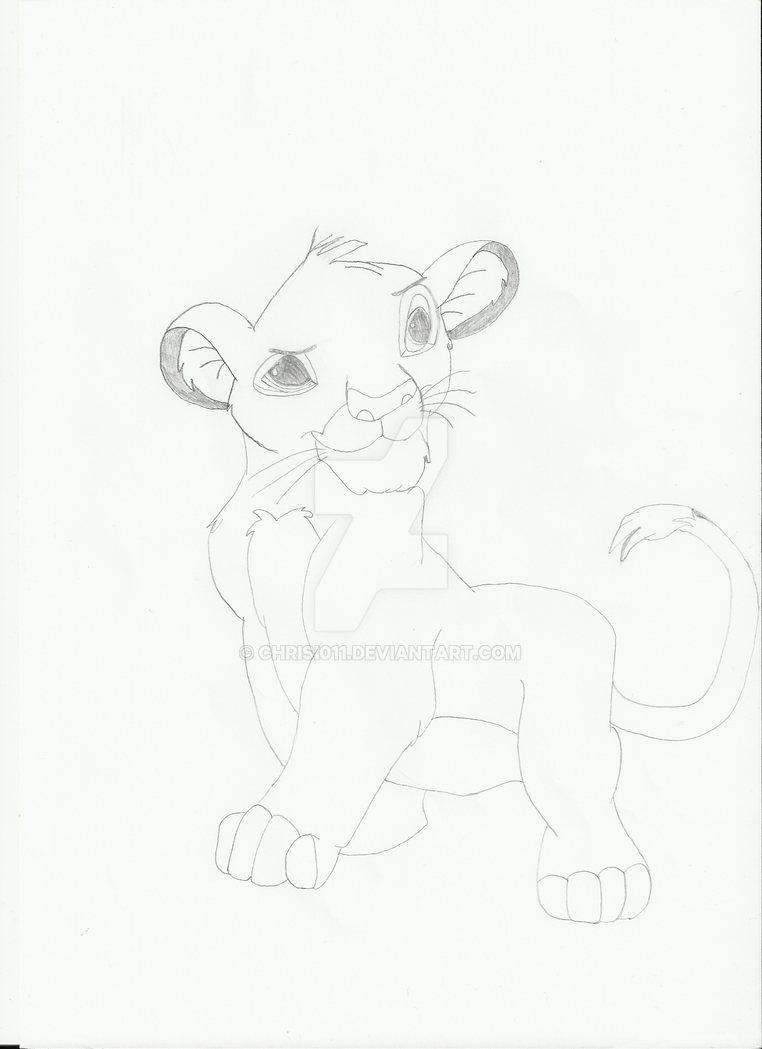 My first Simba by Chrisi011