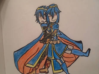 Marth and Lucina