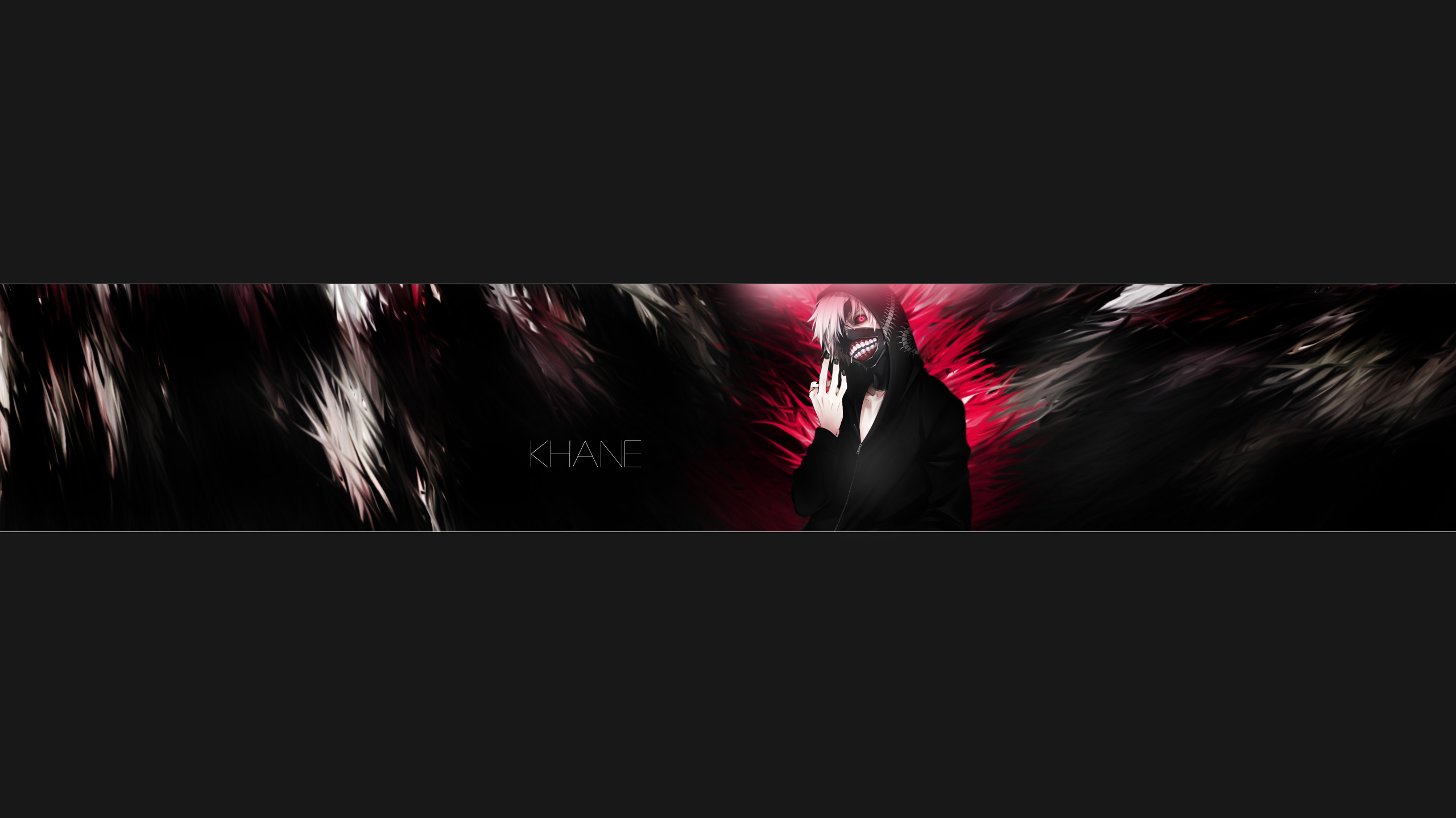 anime tokyo ghoul youtube: Tokyo-Ghoul-Banner By Amchik On DeviantArt