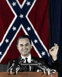 George C. Wallace, Colorized