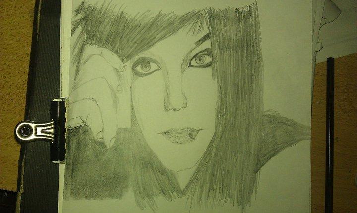 asdf I drew Andy Biersack by RavenxRawr