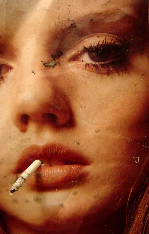 smokingirl by gurski