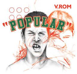 V.ROM t-shirt POPULAR by gurski