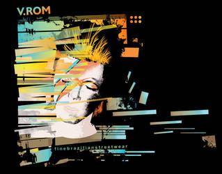 V.ROM t-shirt BOWIE by gurski