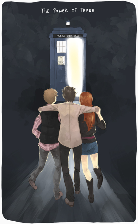 Doctor Who - power of three by PetitPotato