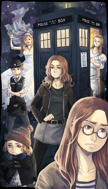 Doctor Who - Good bye Pond! by PetitPotato