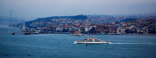 Bosporus by baharyuksel