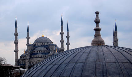 Blue Mosque by baharyuksel