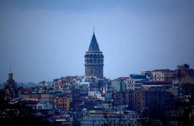 Galata Tower by baharyuksel